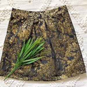 Annabella Francesca's Skirt Metallic Brocade Glam